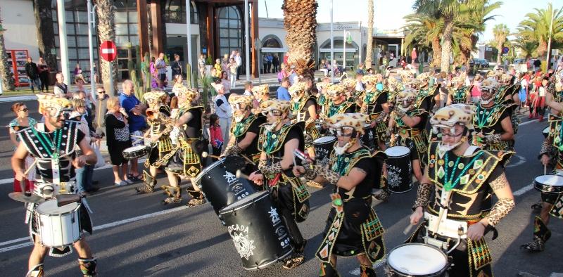 Resultado de imagen de carnavales de Tinajo y Costa Teguise 2018