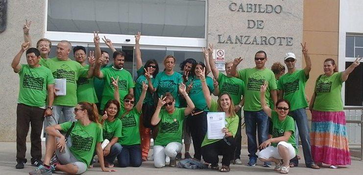 PAH Cabildo de Lanzarote moción exigencias