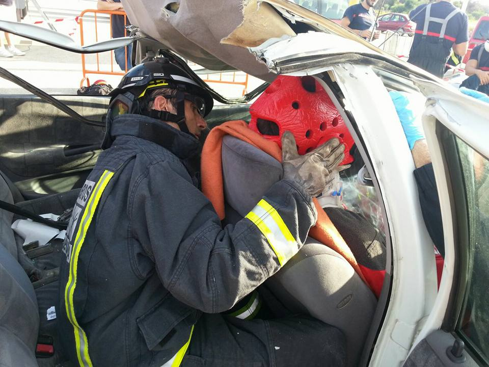 bomberos Lanzarote encuentro Málag