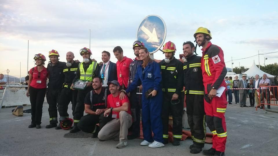bomberos Lanzarote encuentro Málaga