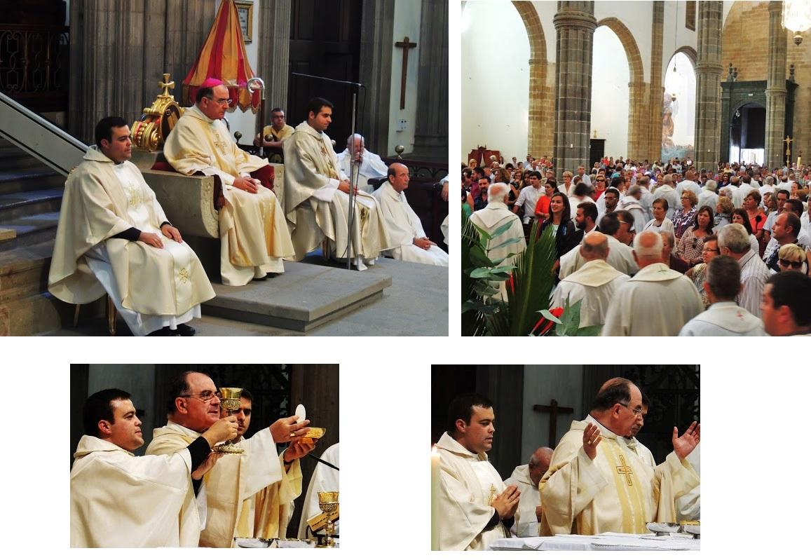 Nicanor Bermúdez ordenado sacerdote