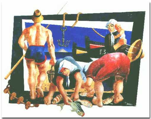 Pintura César Manrique