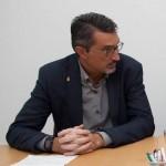 Los candidatos Marci Acuña y Oswaldo Betancort