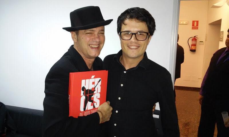 Santiago Auserón y Óscar Pérez