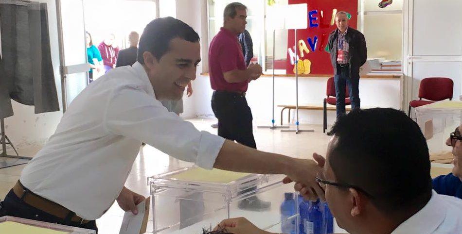 El actual alcalde de Arrecife fue el candidato má svotado en la ciudad en los últimos comicios locales.