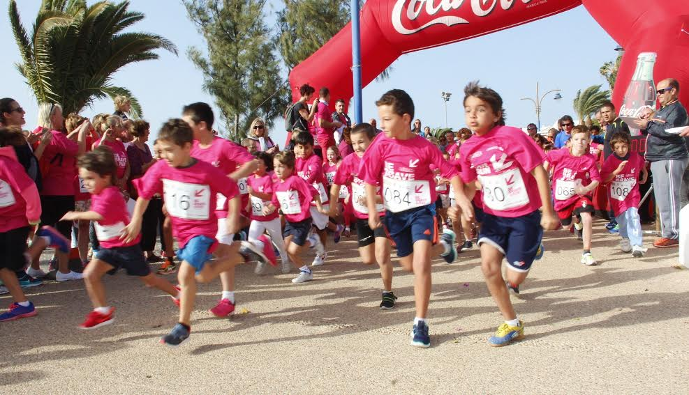 Carrera Solidaria  de Playa Blanca