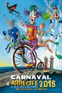 cartel carnaval Arrecife
