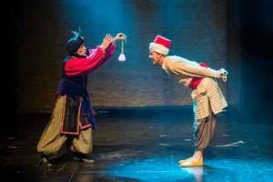 Una escena del musical Aladino que llega al Teatro Cruce de las Culturas de Arinaga.
