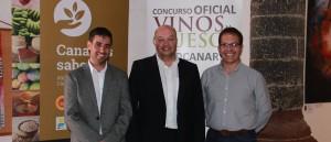 Concurso Oficial de Vinos Agrocanarias 2016