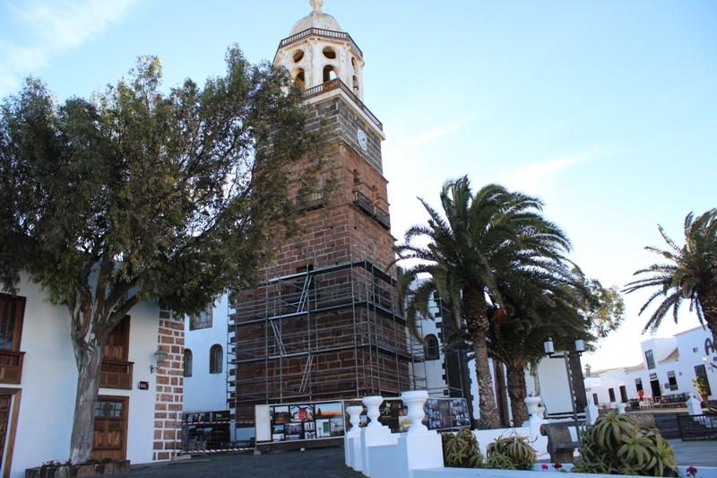 rehabilitación torre de la Villa de Teguise