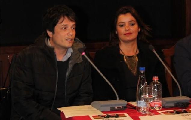 Óscar Pérez y Olivia Duque.