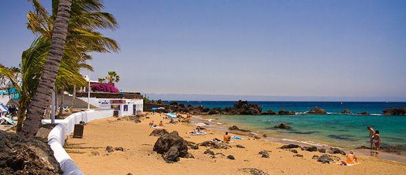 Imagen de archivo de Playa Chica.