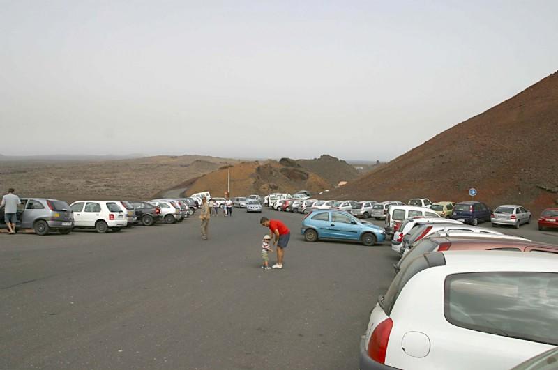 carretera parque timanfaya