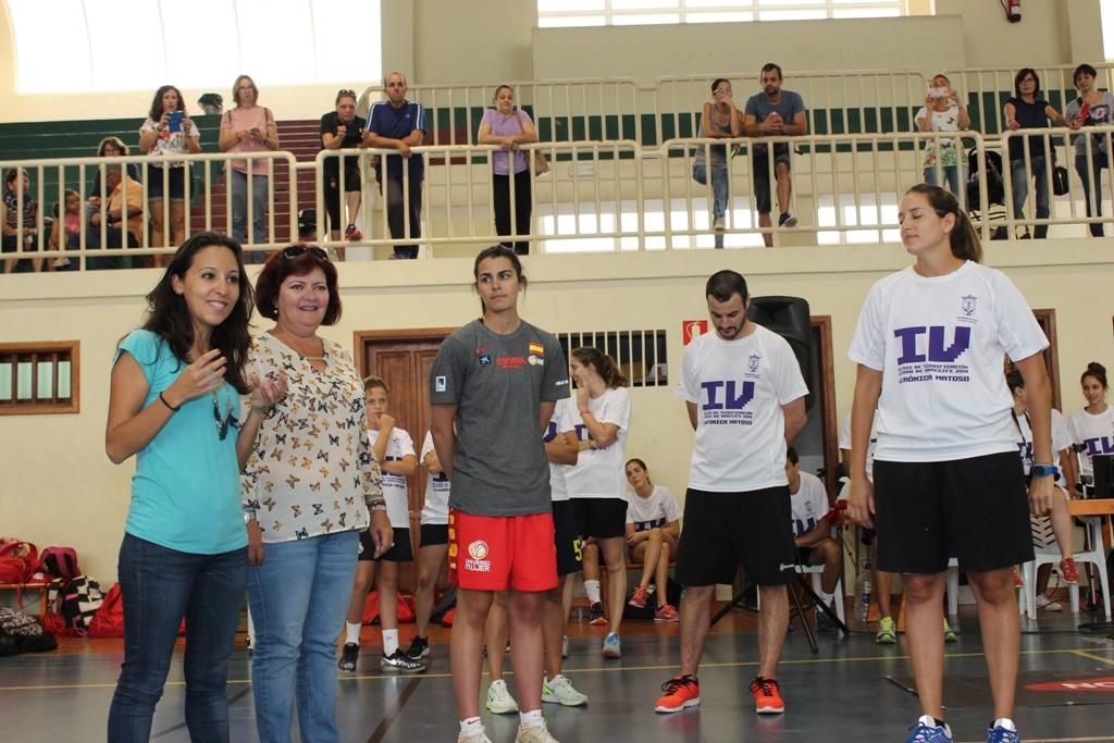 Jimena Álvarez reconoció que este deporte le gusta, y animó a su práctica.