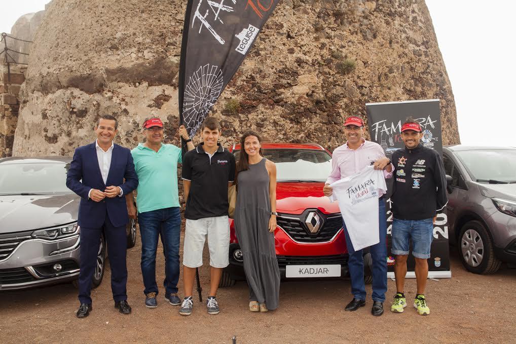 El olímpico José Carlos Hernández apadrinó la prueba; y la firma Renault se implicó este año en la colaboración.