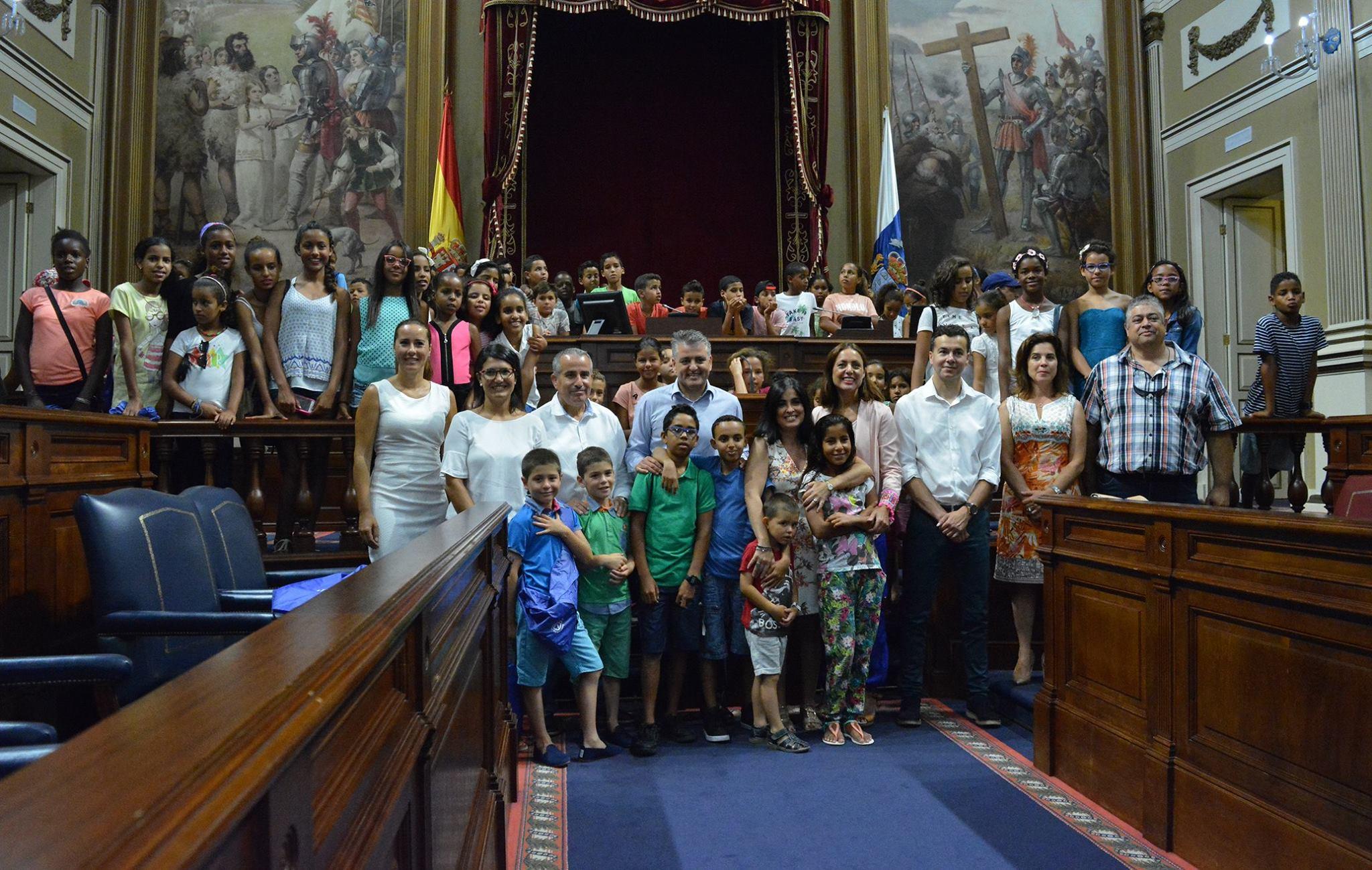 niños parlamento