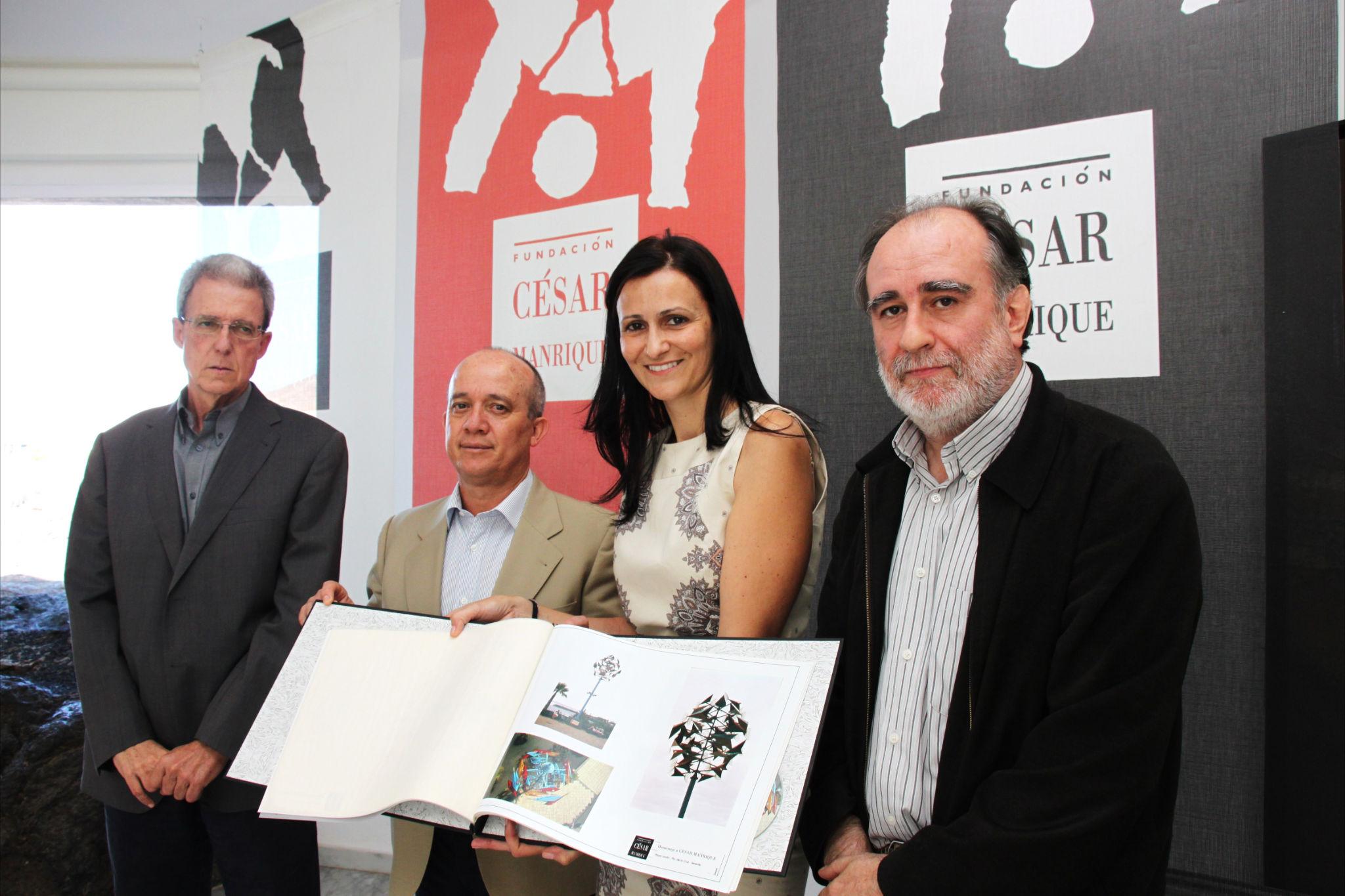 El proyecto se presentó en la Fundación del artista.