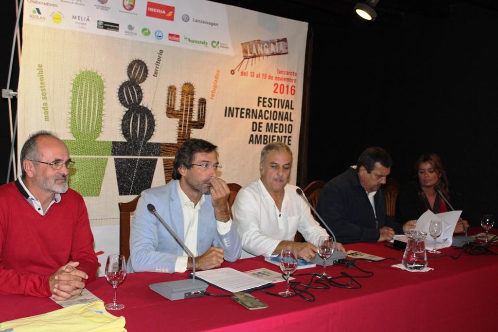José Pérez Dorta (i), Pedro San ginés, Salvador Hernández, Miguel Ángel Jiménes y Olivia Duque.