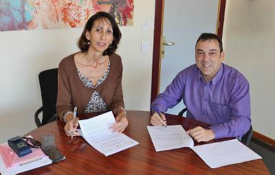 Carmen Arroche y Jose Luis Aparicio.