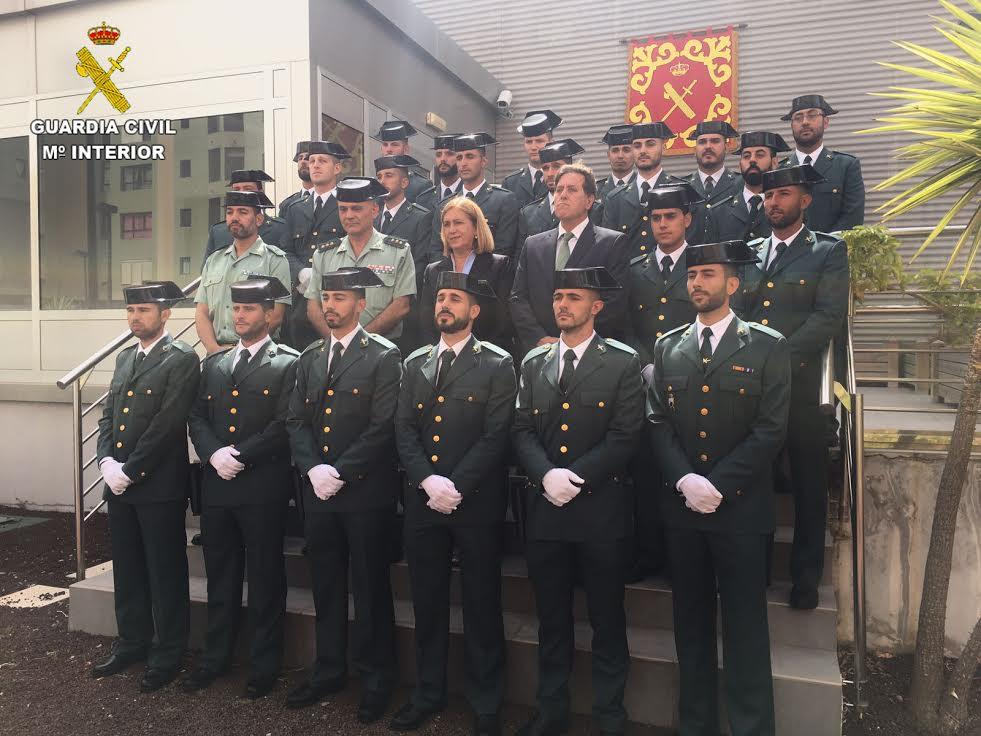 15 Guardias Civiles Completarán Su Formación En Prácticas En